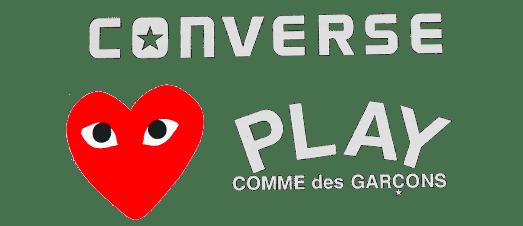 Коллекция Converse Comme Des Garcons x PLAY